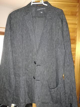 Traje de chaqueta Adolfo Domínguez, color gris