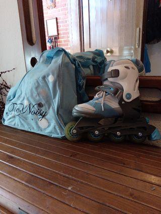 patines talla del 34 al 39, estensibles
