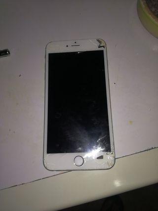 Vendo Iphone 6 Plus Color oro para piezas