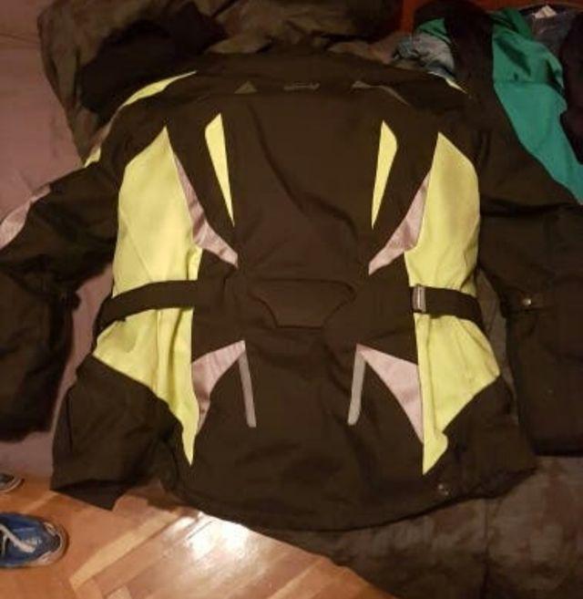 chaqueta moto negra Rainers talla L