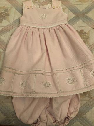 Vestido niña de pique