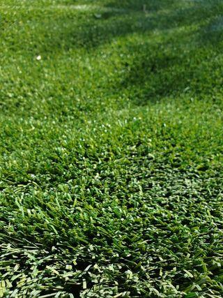 Césped artificial reciclado de campos de futbol