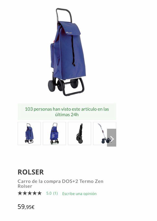 Carro de la compra Rolser Thermo