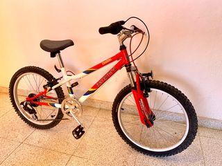 Bicicleta Monty zeltra 405 niño nueva