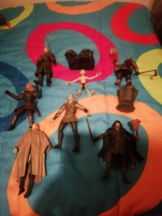 lote figuras toy biz señor de los anillos