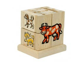 Puzzle apilable