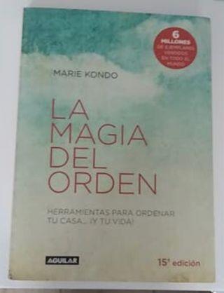 La magia del orden. Marie Kondo. NUEVO.