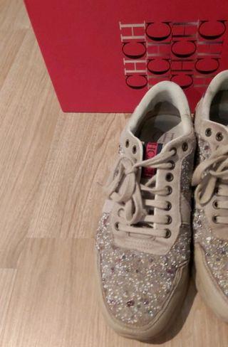 Zapatillas Carolina Herrera muy bien