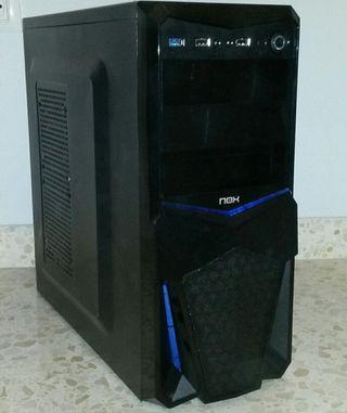 Torre gamer nivel medio gtx 660