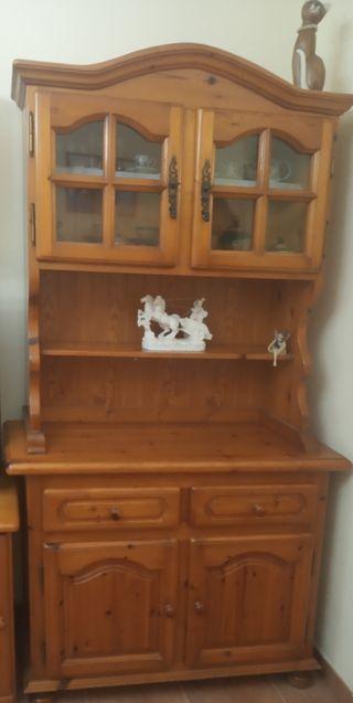 mueble estilo provenzal madera pino