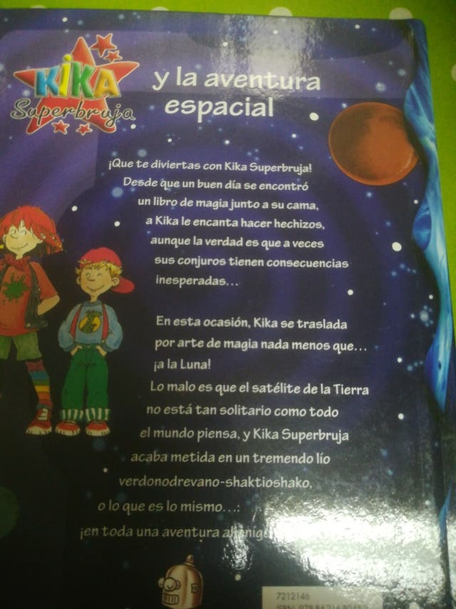 libros kika superbruja.