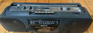 Radio cassette grabadora Sony