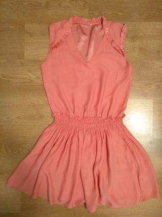 Vestido Claudie Pierlot rosa 40