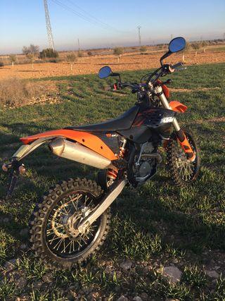 Moto KTM EXC 250 F