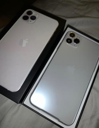 Iphone 11 pro Max 64gb plata