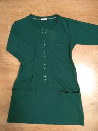 Vestido verde by Basi L