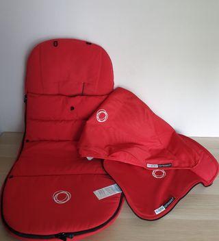 Pack bugaboo camaleón rojo.