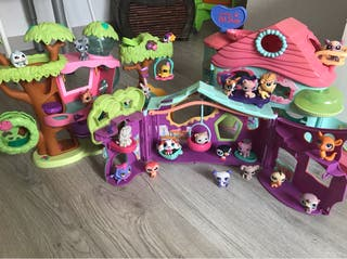 Casitas y muñecos littlest pet shop