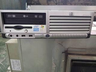 PC HP INTEL PENTIUM + MONITOR HP + TECLADO