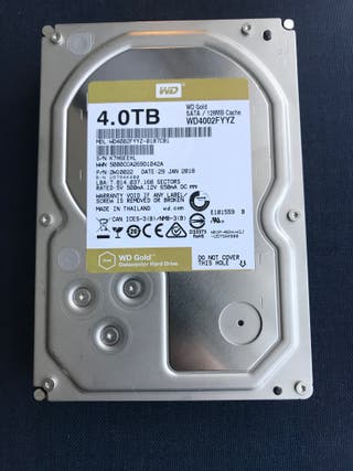 Disco duro 4TB WD Gold