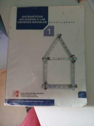 libro matematicas 1 bachiller Mcgrawhill
