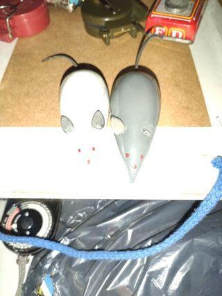 ratones de chapa juguetes