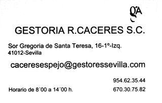 GESTORIA R.CACERES