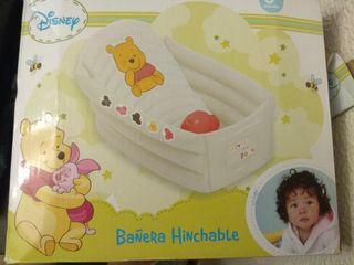 Bañera bebe inchable
