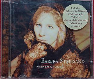 "BARBRA STREISAND ""HIGHER GROUND"" CD"