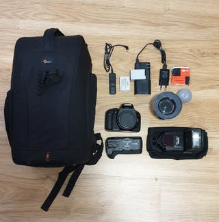 CANON 550D + PACK
