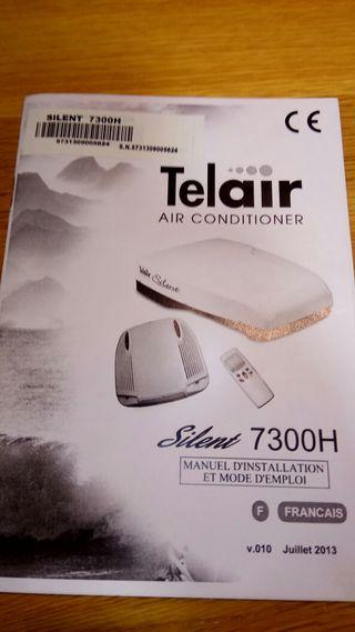 Aire acondicionado caravana Telair Silent 7300H