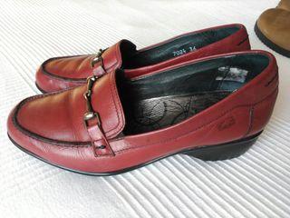 Zapatos mujer Fluchos T 36 100% piel de segunda mano por 15