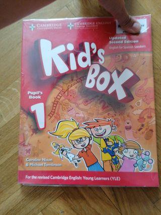 Kids Box Libro inglés