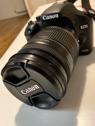 Cámara Réflex Canon 18-200mm