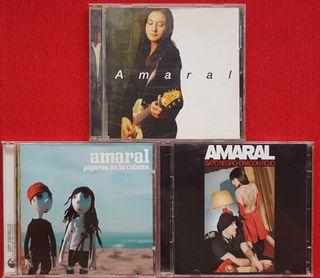 PACK AMARAL 4CDS