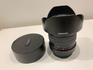 Samyang 14mm 2.8 para Canon