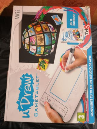 Draw Game Tablet Wii con uDraw studio