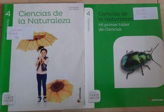 libro ciencias de la naturaleza 4to primaria
