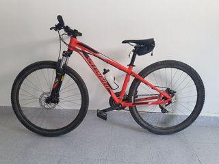 Bicicleta montaña chica specialized talla s