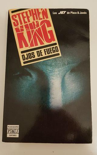 Libro Ojos de fuego de Stephen King