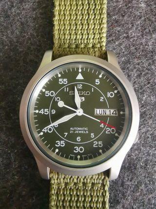 Reloj Seiko Automático SNK805