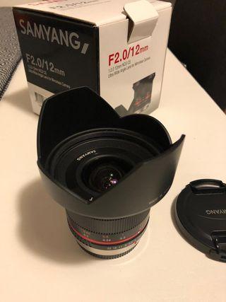 Samyang fijo 12mm 2.0 para micro 4/3