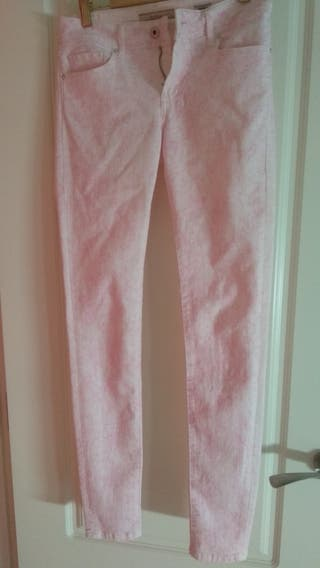 pantalón salsa rosa