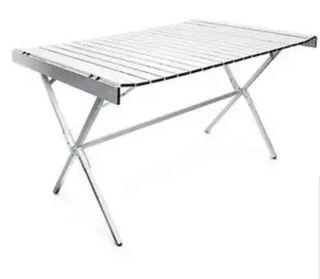mesa aluminio plegable.camping,camper,autocaravana
