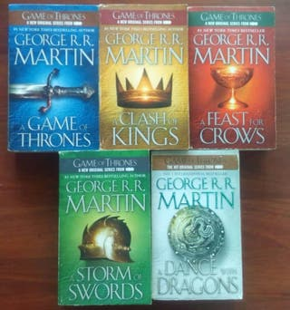 Libros Juego de Tronos en inglés