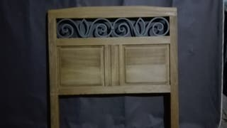 Cabecero de cama de 90 cm rustico