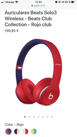Auriculares Beats solo3 wireless beats