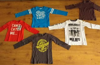 Camisetas niño talla 4