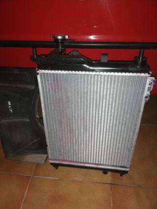 radiador hyundai getz