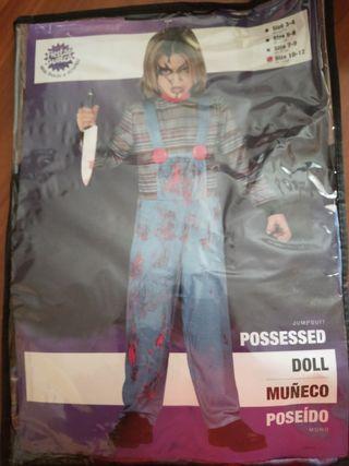 Disfraz Chuki muñeco diabólico